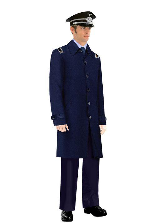 丰台区保安大衣制服图片
