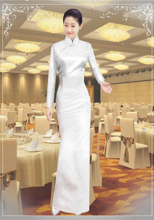 中餐迎宾服装