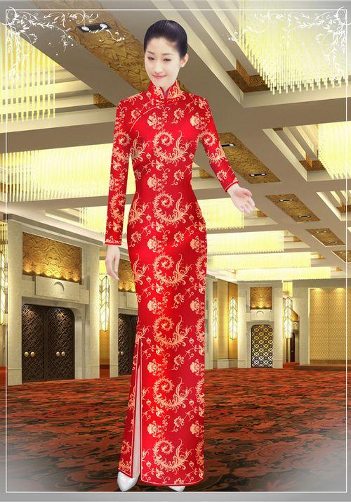 中餐迎宾服装1