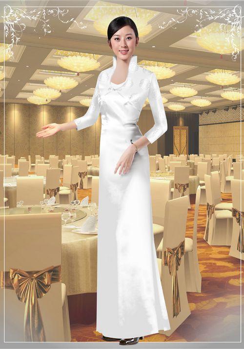 中餐迎宾服装2