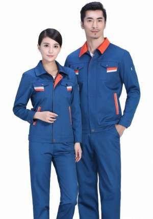 纯棉工装的透气性决定了工装的舒适度