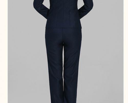 新款深蓝2女士西裤